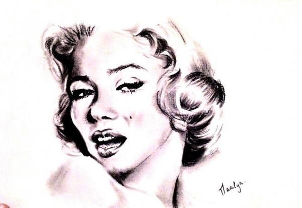 Marilyn Monroe par Lolochou